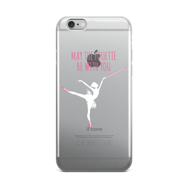 Belle 'MAY THE FOUETTÉ' iPhone 5/6/6s Plus Case