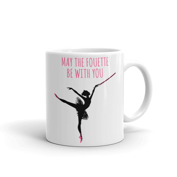 Belle 'MAY THE FOUETTÉ' Coffee Cup