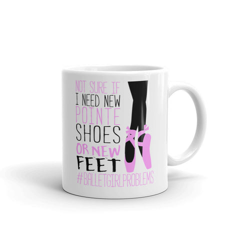 Belle 'GIRL PROBLEMS' Coffee Cup