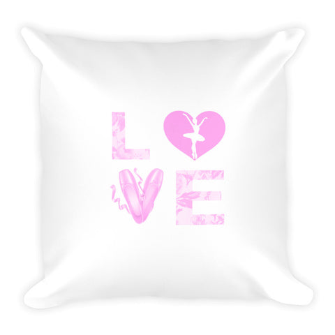 Belle 'LOVE' Accent Pillow