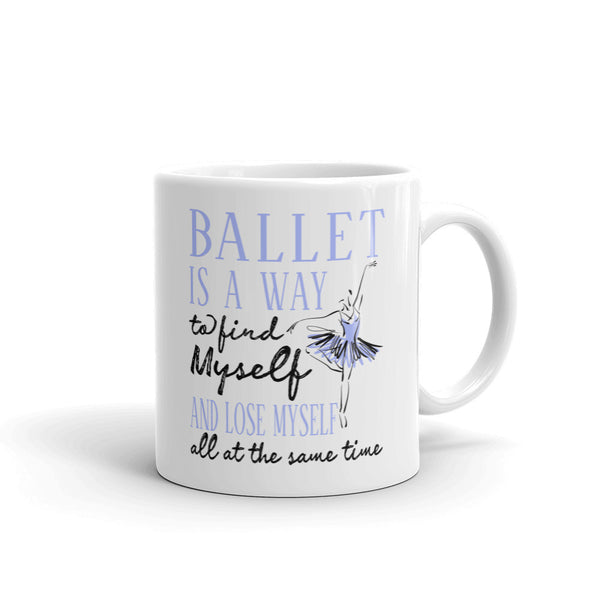 Belle  'FIND MYSELF' Coffee Cup