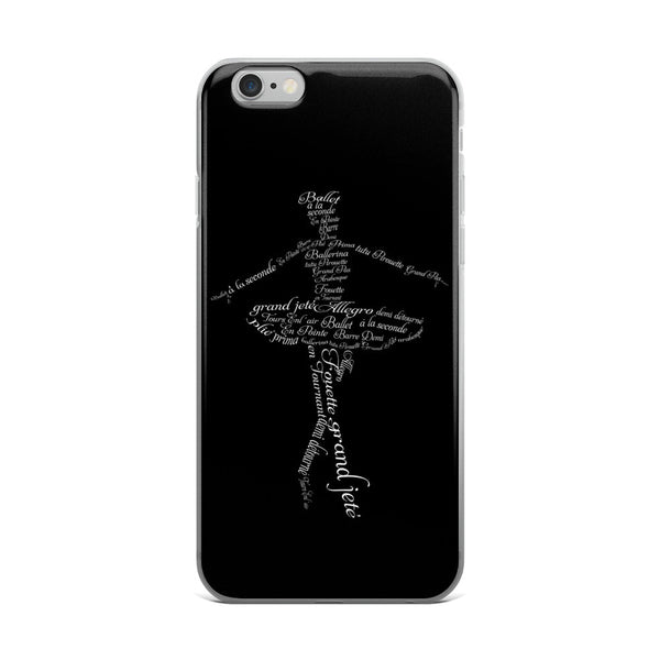 Belle 'A BALLERINA'S VOCABULARY' iPhone 5/6/6s Plus Case
