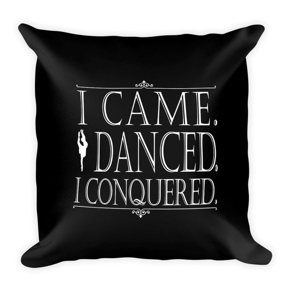Belle 'I CONQUERED' Accent Pillow