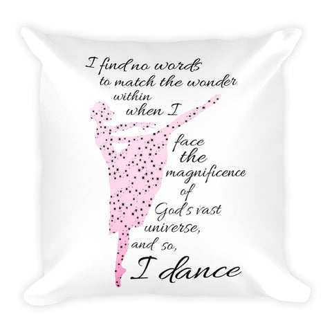 Belle 'NO WORDS' Accent Pillow