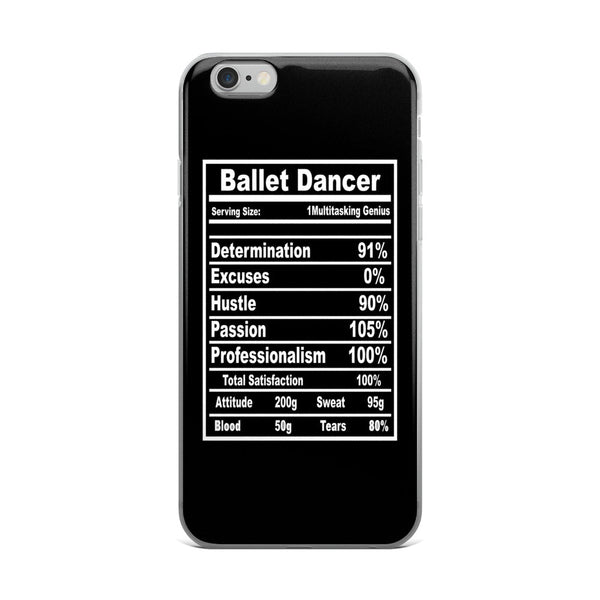 Belle 'BALLET DANCER' iPhone 5/6/6s Plus Case