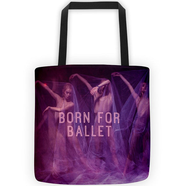 Belle 'BORN FOR BALLET' All-Over Tote