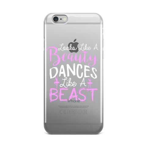 Belle 'LIKE A BEAUTY' iPhone 5/6/6s Plus Case