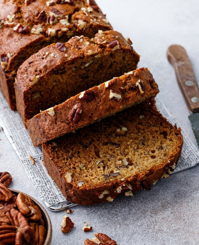 Banana Bread Image from @loveandoliveoil on Instagram UK