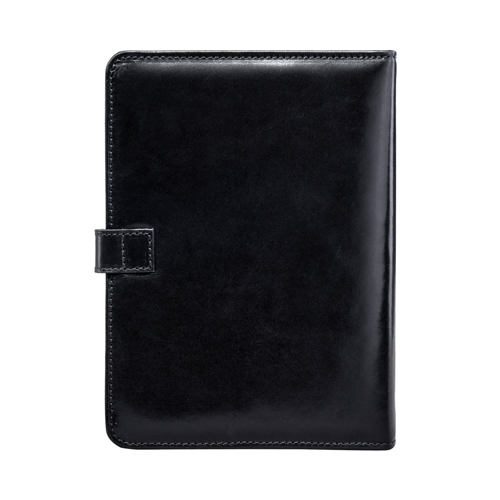 Image 4 of the Black Leather Address Book