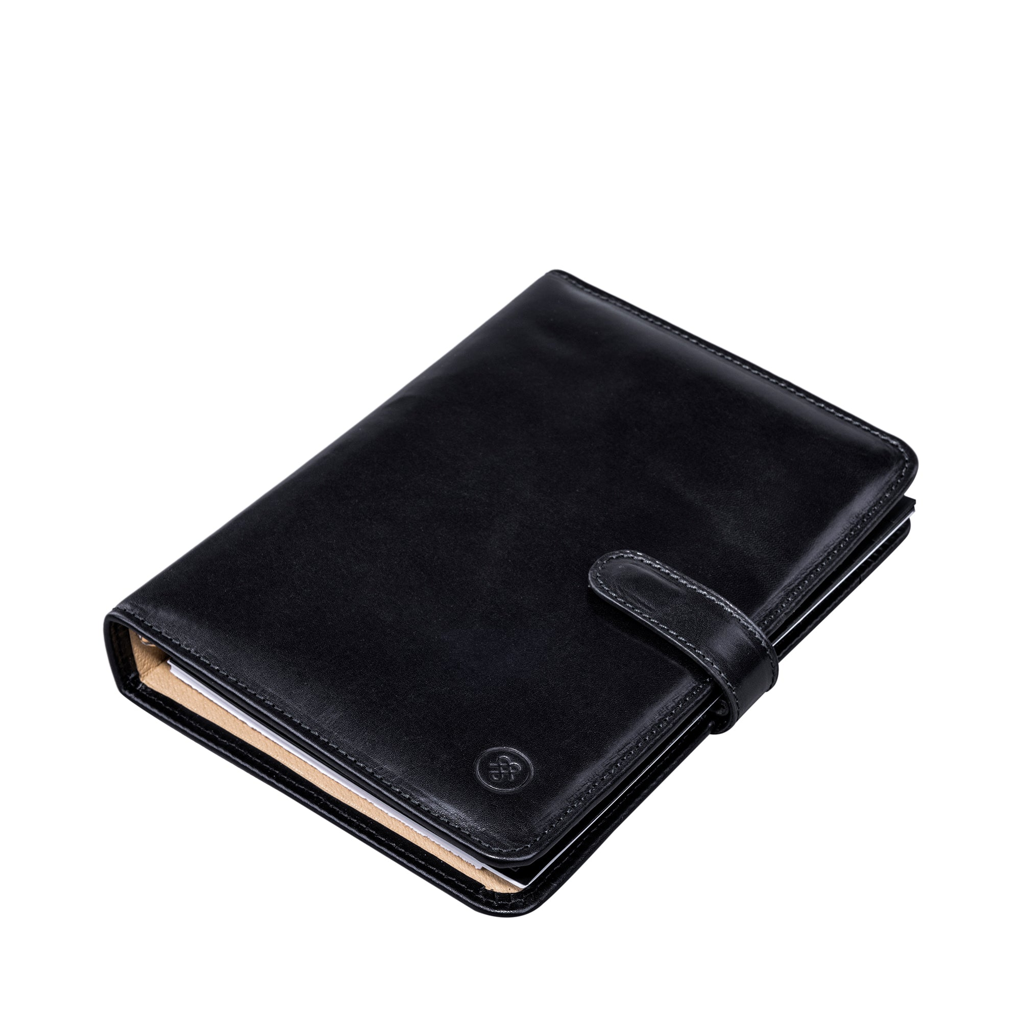 Image 3 of the Black Leather Address Book