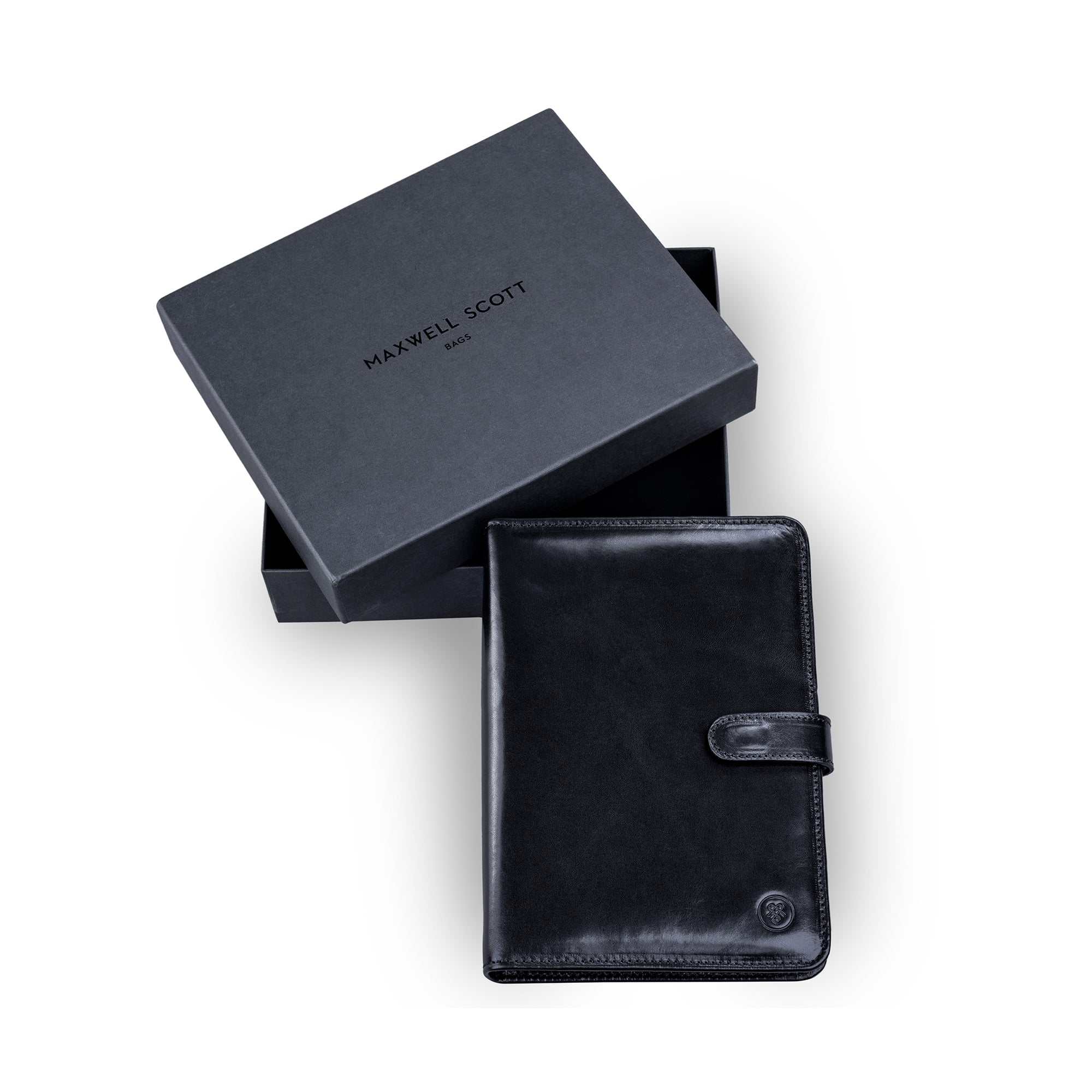 Image 5 of the Black Leather Address Book