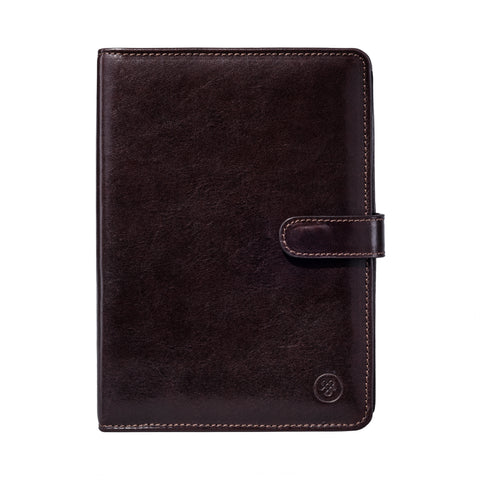 Image 1 of the Chocolate Leather Address book