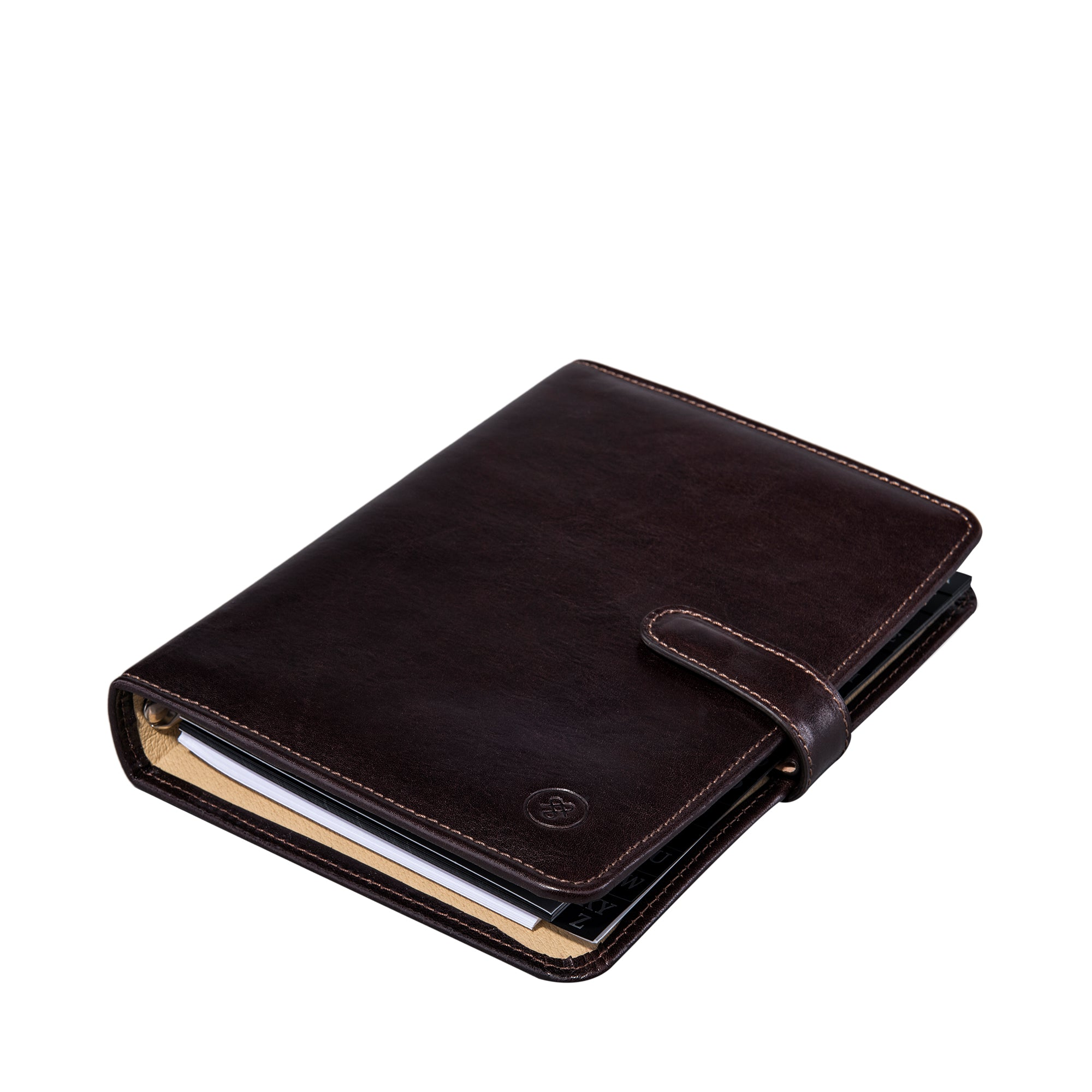 Image 3 of the Chocolate Leather Address book