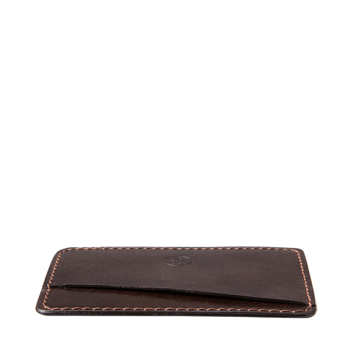 Image 6 of the 'Max' Luxury Brown Leather Card Case