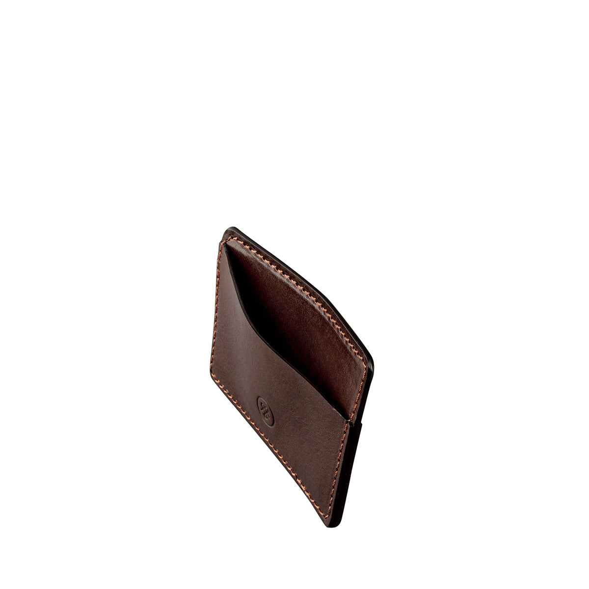 Image 5 of the 'Max' Luxury Brown Leather Card Case