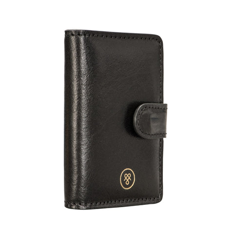 Image 2 of the 'Alvito' Black Leather Mini Pocket Diary