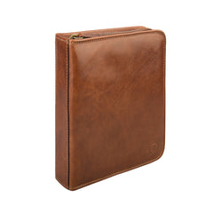 Image 3 of the 'Atella' Chestnut Veg-Tanned Leather Watch Presentation Case