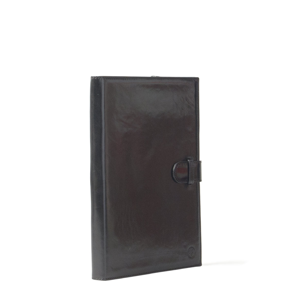 Image 2 of the 'Gallo' Black Veg-Tanned Leather Prestige Business Folder