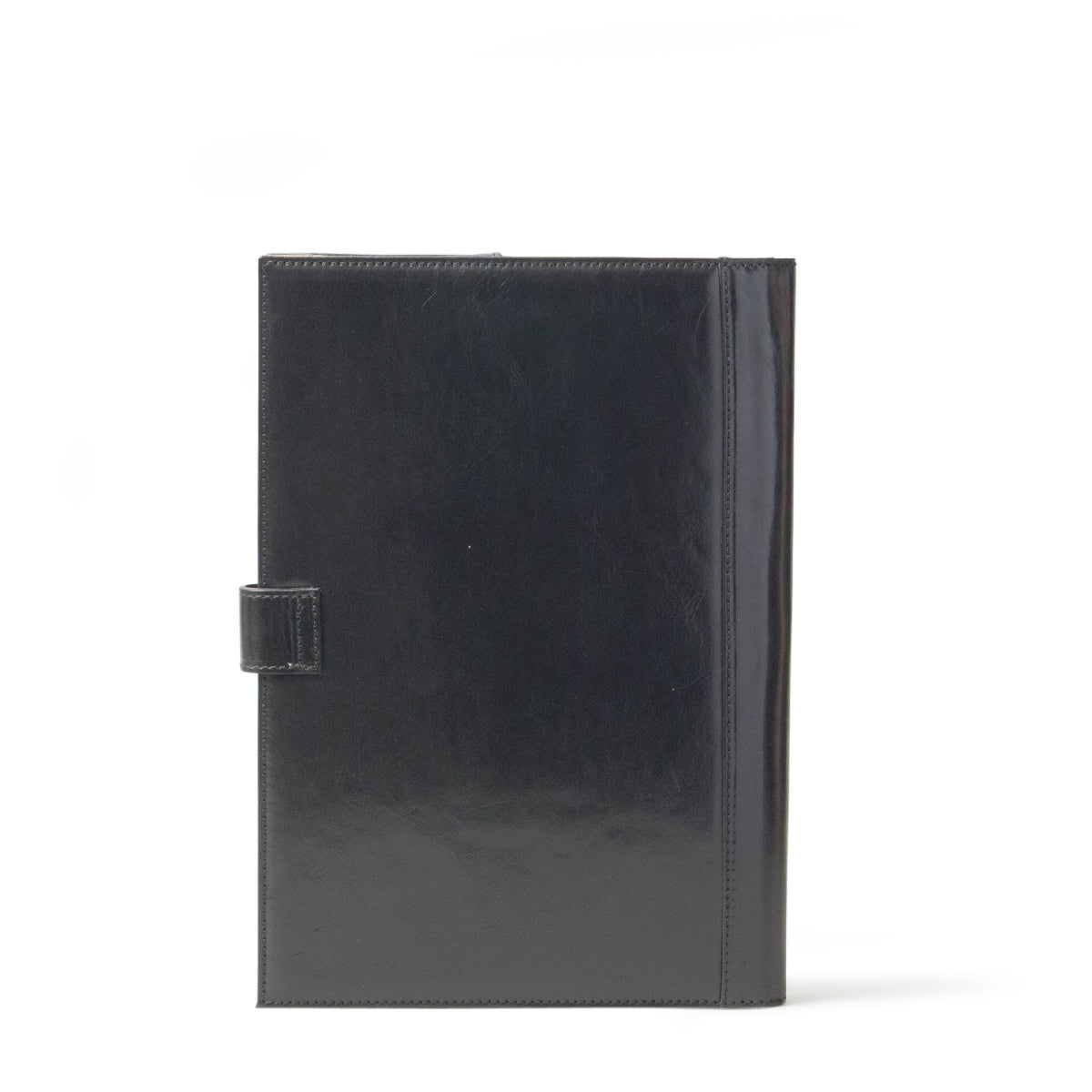 Image 4 of the 'Gallo' Black Veg-Tanned Leather Prestige Business Folder