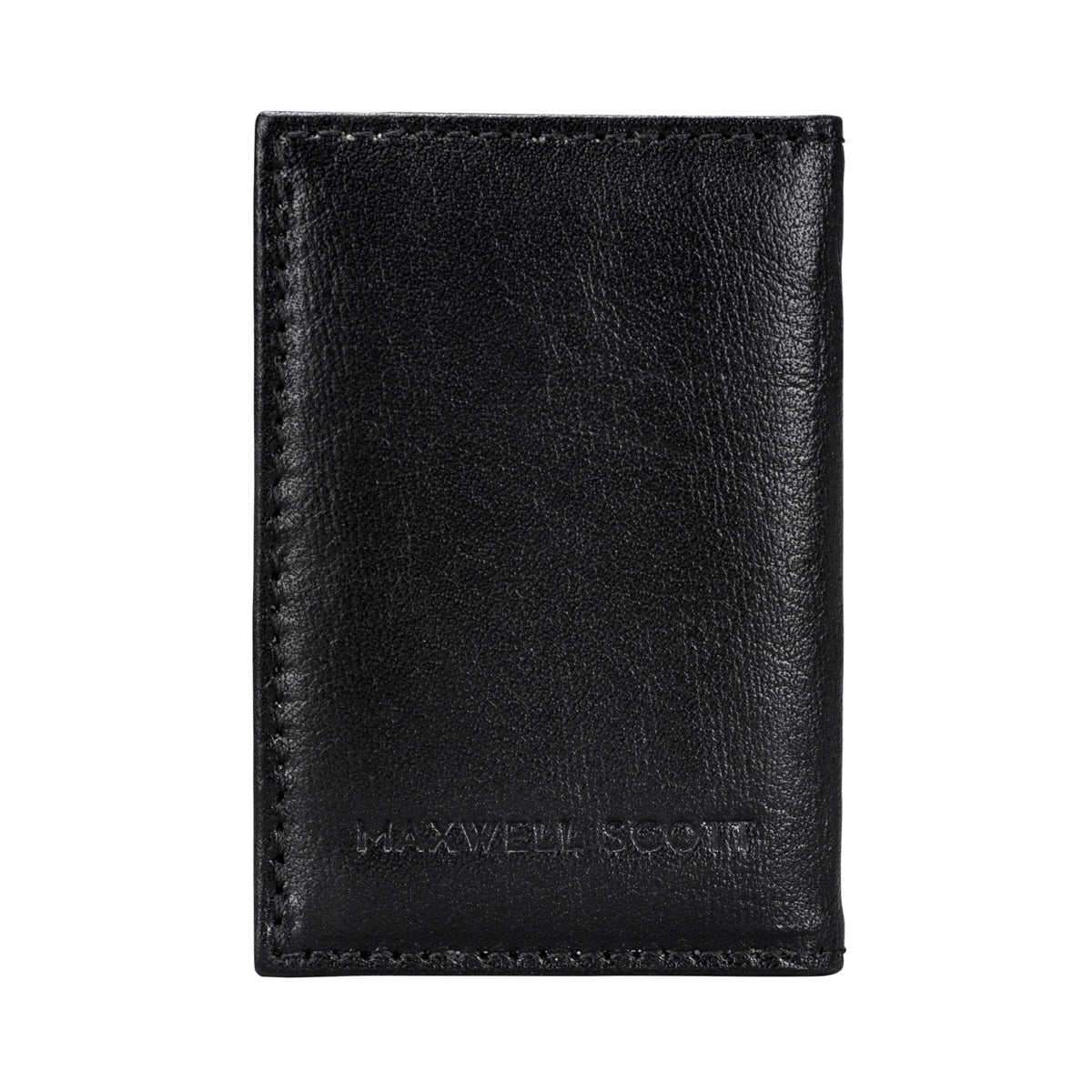 Image 2 of the 'Caldana' Black Mini Pocket Veg-Tanned Leather Address Book