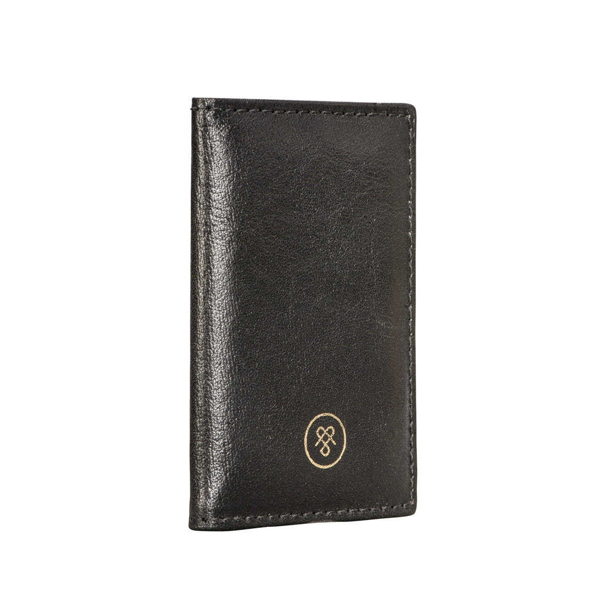 Image 3 of the 'Caldana' Black Mini Pocket Veg-Tanned Leather Address Book