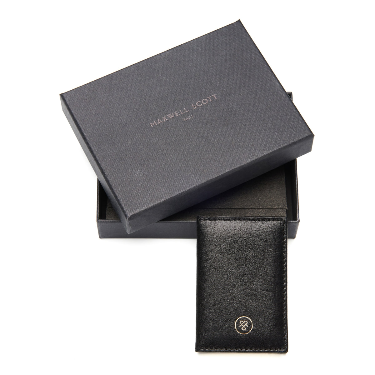Image 6 of the 'Caldana' Black Mini Pocket Veg-Tanned Leather Address Book