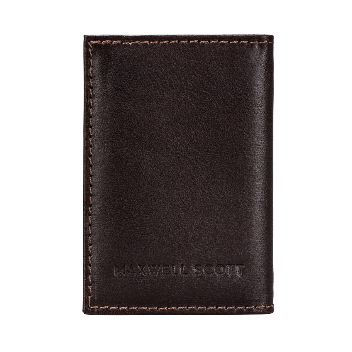 Image 2 of the 'Caldana' Dark Chocolate Mini Pocket Veg-Tanned Leather Address Book