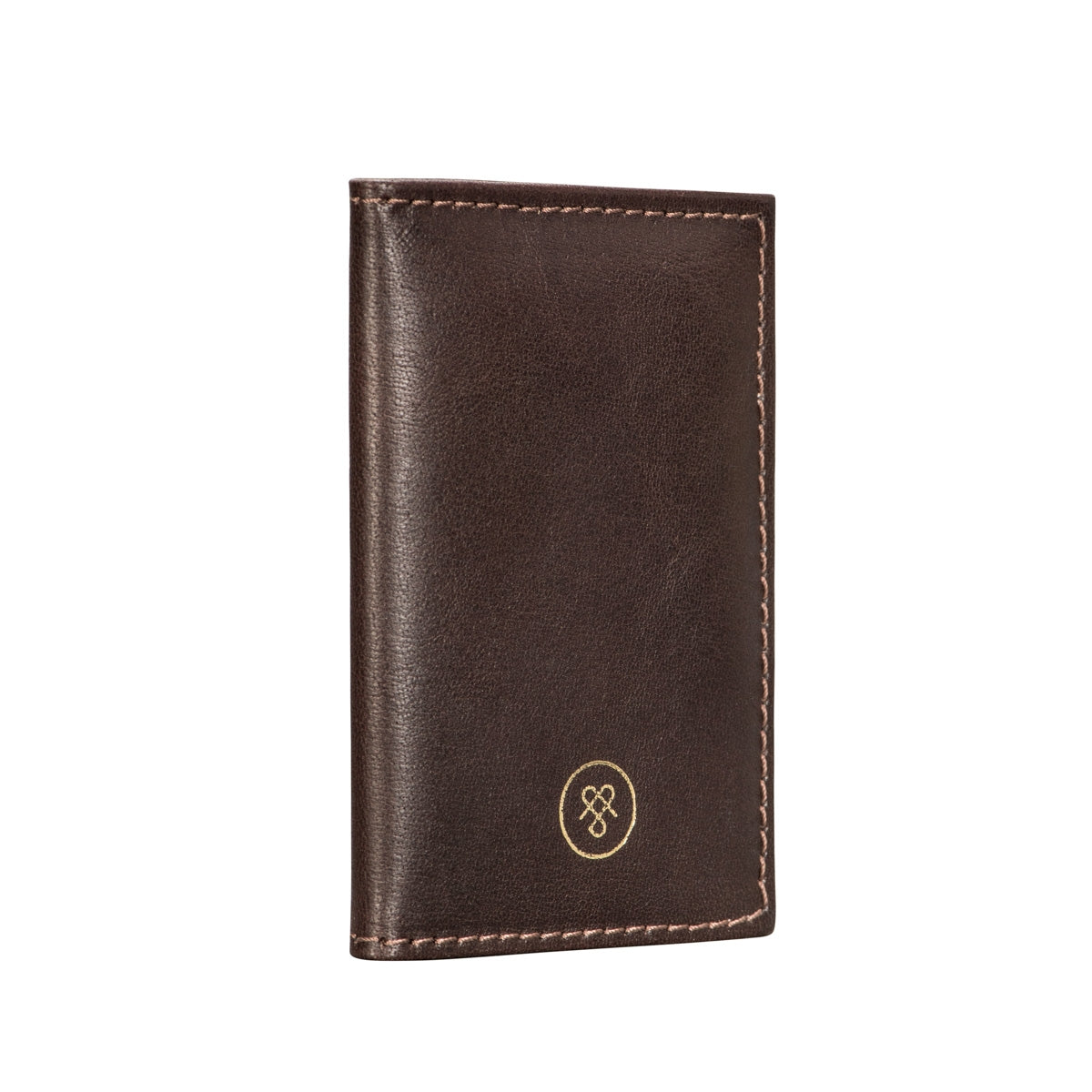 Image 3 of the 'Caldana' Dark Chocolate Mini Pocket Veg-Tanned Leather Address Book