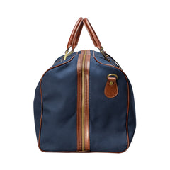 Image 3 of the Large 'Giovane' Rich Navy and Tan Holdall