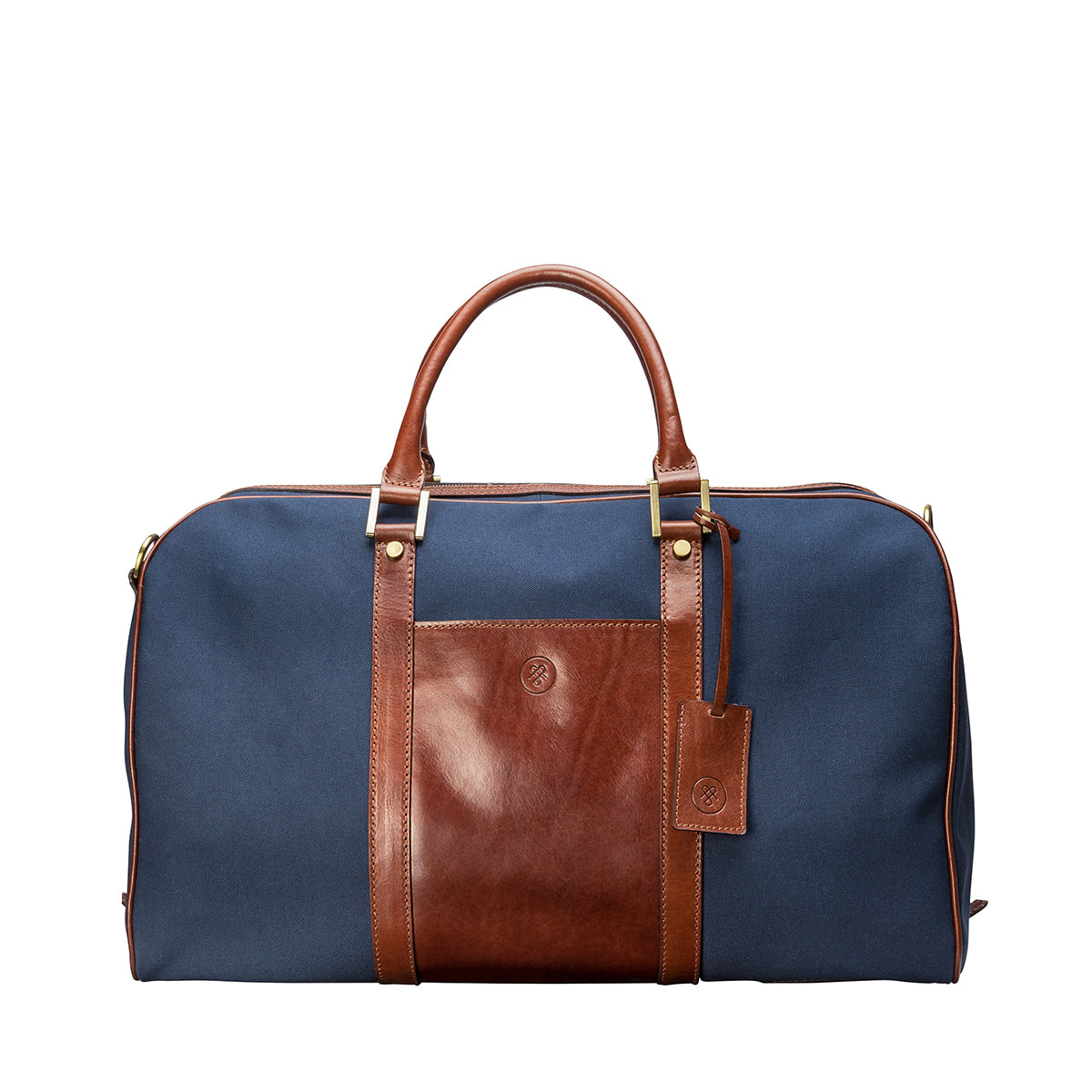 Image 1 of the 'Giovane' Rich Navy and Tan Holdall