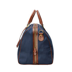 Image 3 of the 'Giovane' Rich Navy and Tan Holdall