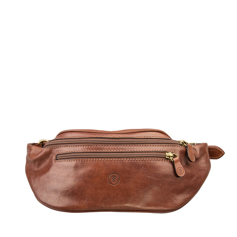 Image 1 of the 'Centolla' Chestnut Veg-Tanned Leather Waist Bag