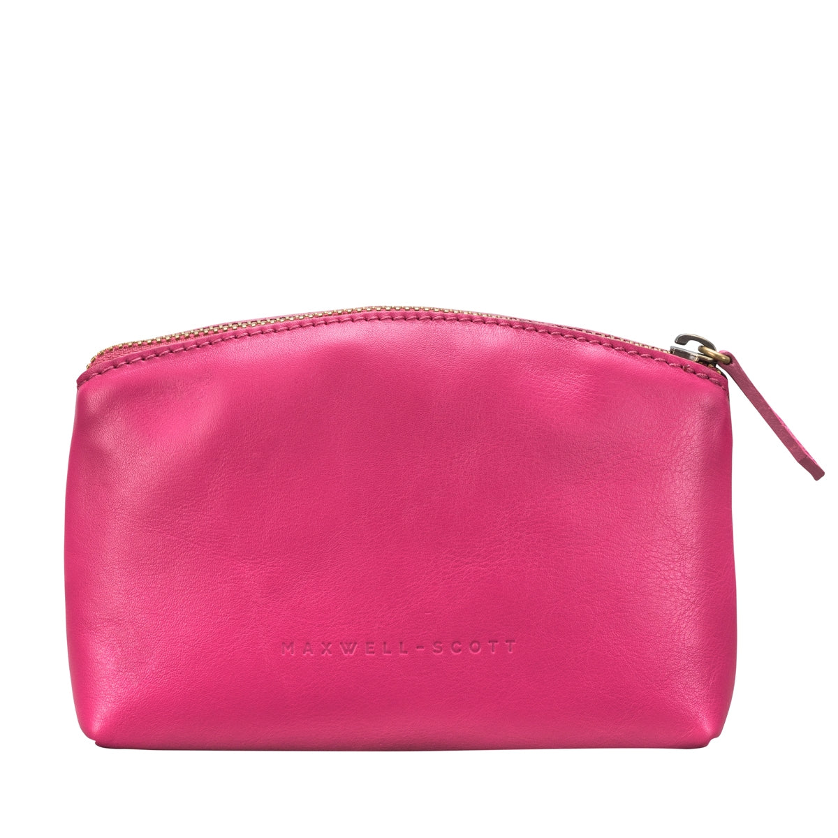 Image 3 of the 'Chia' Italian Leather Make Up Bag