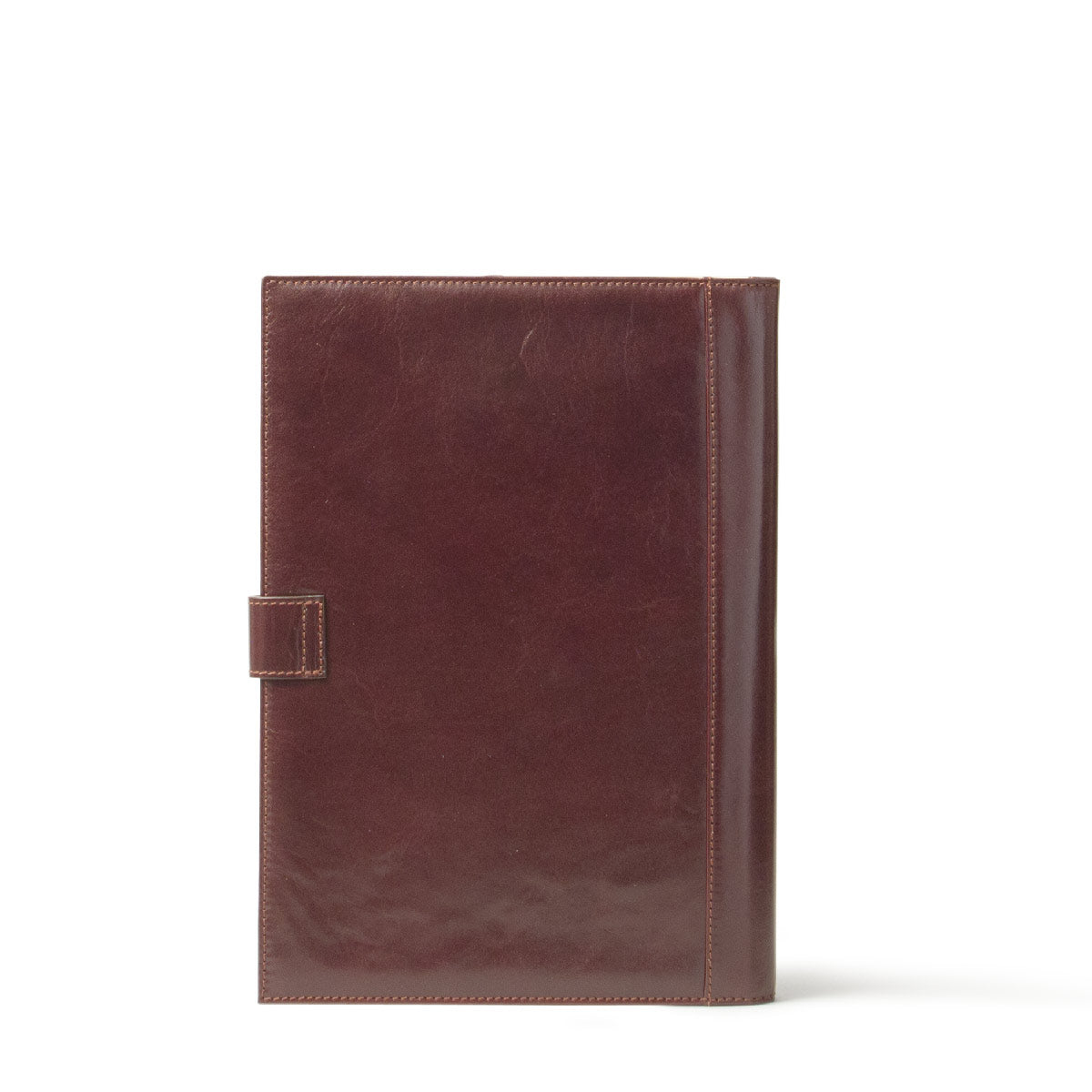 Image 4 of the 'Gallo' Dark Chocolate Veg-Tanned Leather Prestige Business Folder