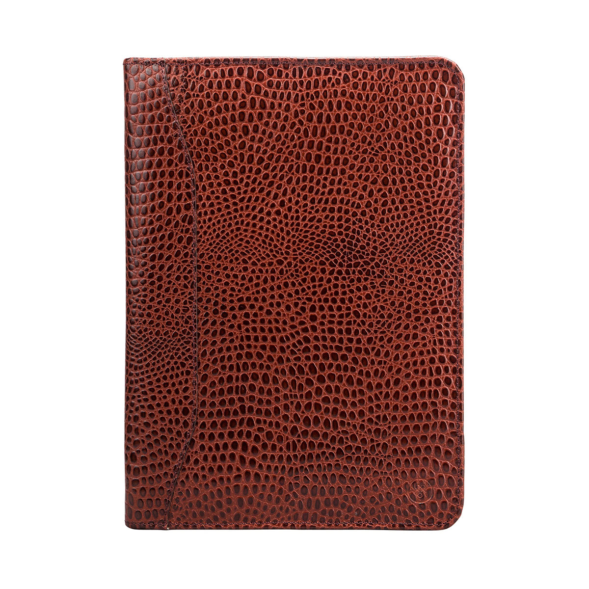 Image 1 of the 'Dimaro' Zipped Mock Croc Leather Conference Folder