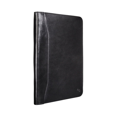 Image 2 of the 'Dimaro' Black Leather Document Case