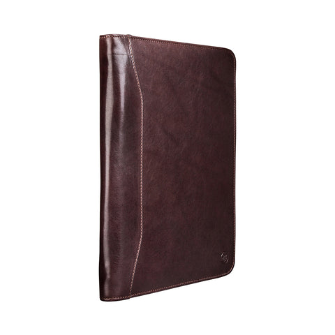 Image 2 of the 'Dimaro' Brown A4 Leather Conference Folder