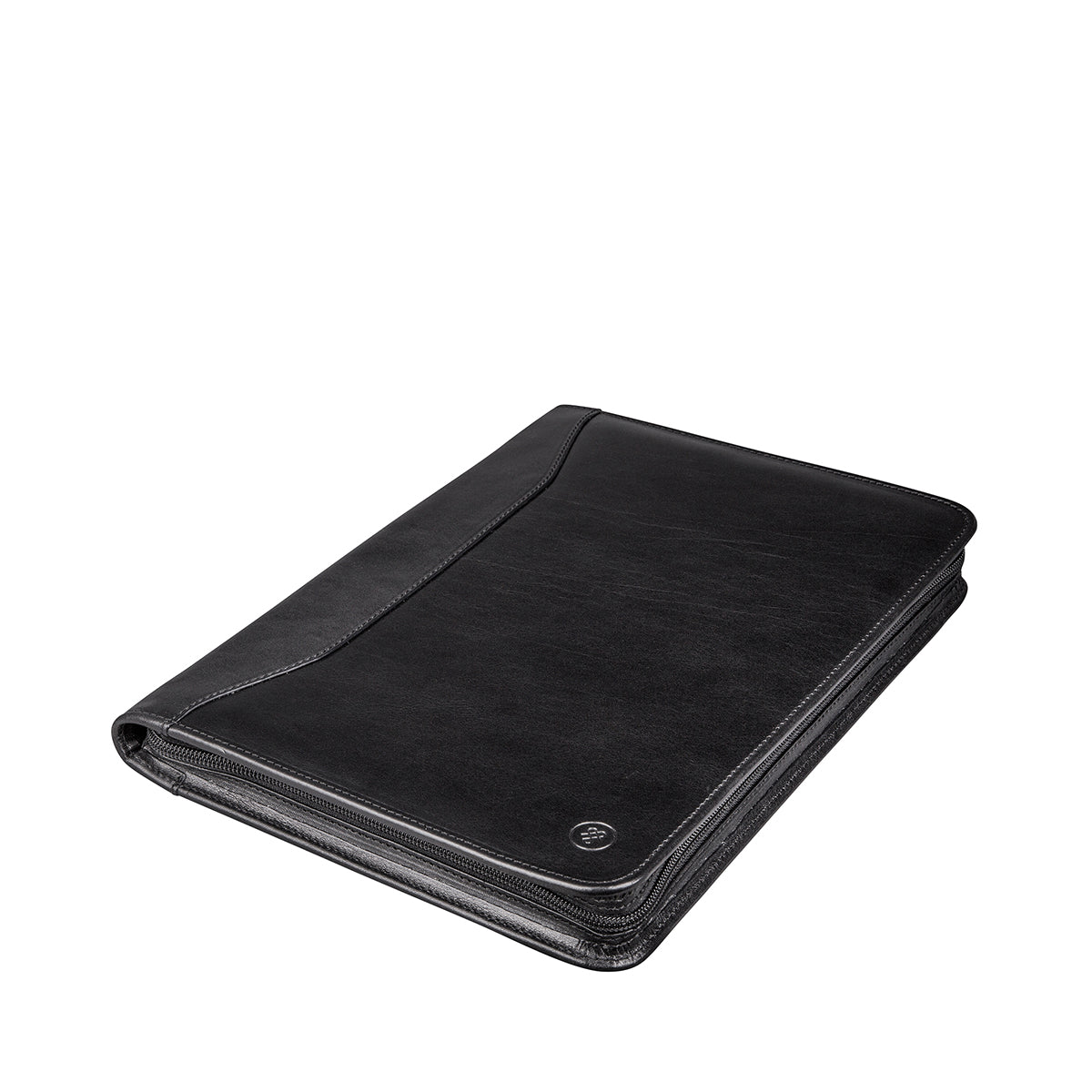 Image 3 of the 'Dimaro' Black Leather Document Case