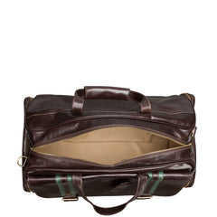 Image 6 of the 'Dino' Dark Chocolate Veg-Tanned Leather Holdall
