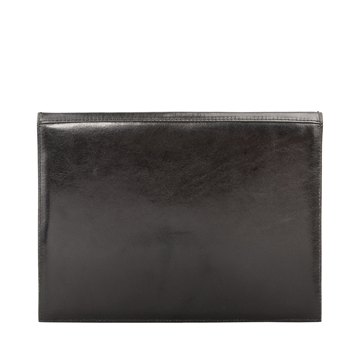 Image 3 of the 'Ettore' Black Veg-Tanned Leather Tablet Case