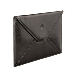 Image 2 of the 'Ettore' Black Veg-Tanned Leather Tablet Case