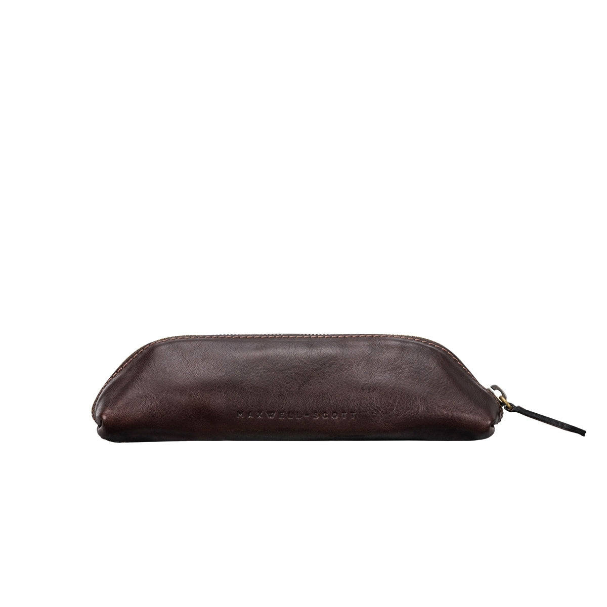 Image 4 of the 'Felice' Dark Chocolate Veg-Tanned Leather Pencil Case