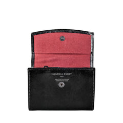 Image 4 of the 'Fontanelle' Compact Black Veg-Tanned Leather Purse