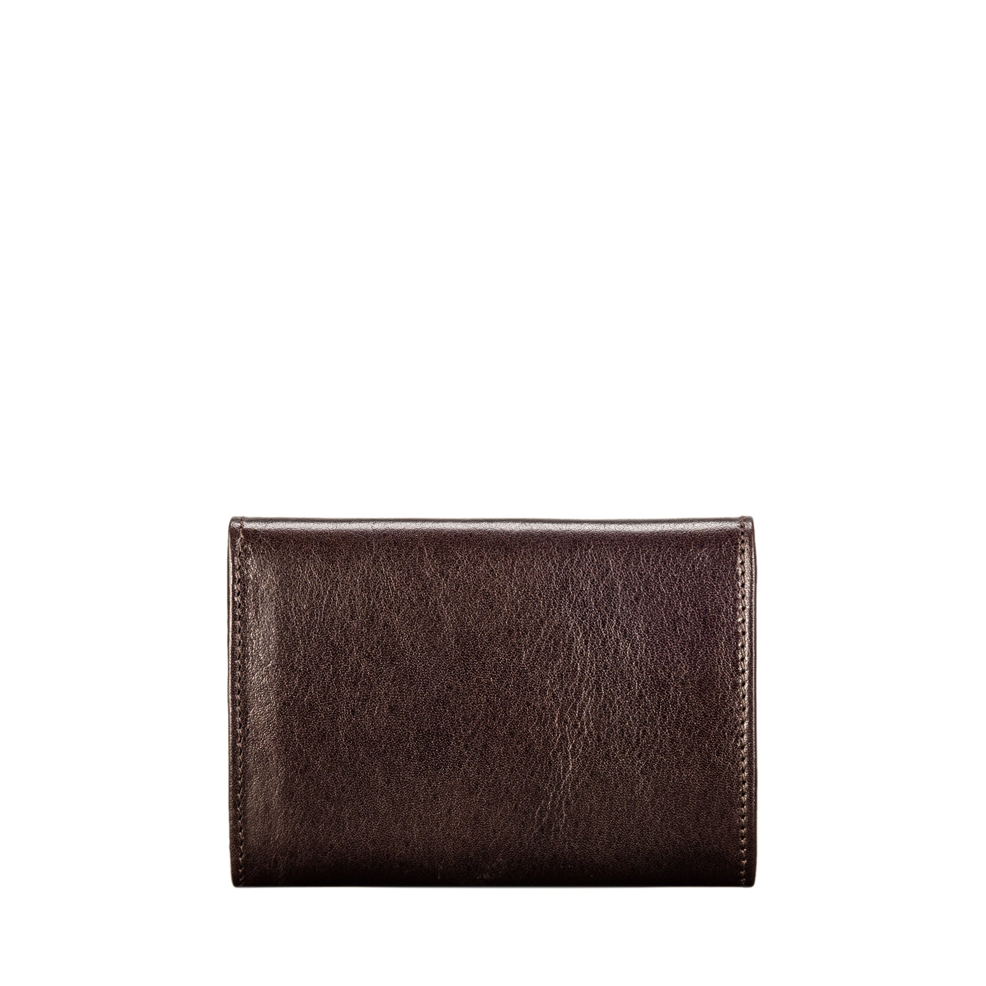 Image 5 of the 'Fontanelle' Compact Brown Veg-Tanned Leather Purse