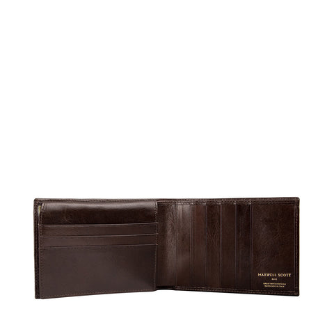 Image 2 of the 'Gallucio' Brown Veg-Tanned Leather Tri Fold Wallet