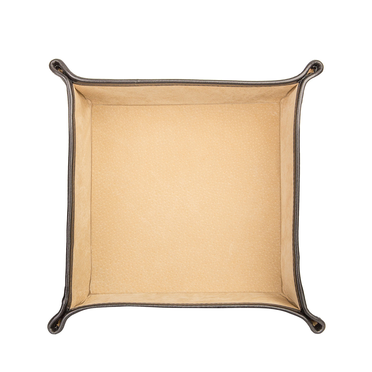Image 4 of the 'Ilario' Black Leather Tidy Tray