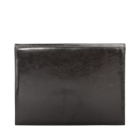 Image 2 of the 'Pico' Black Veg-Tanned Leather Mini Tablet Case