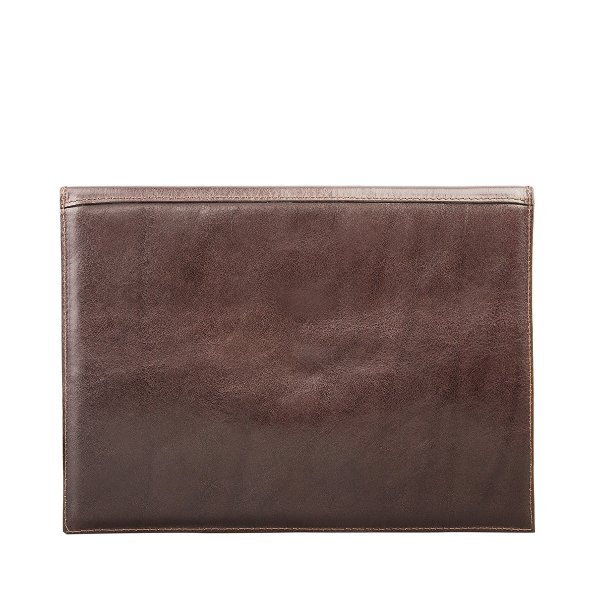 Image 2 of the 'Pico' Dark Chocolate Veg-Tanned Leather Mini Tablet Case