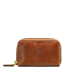 Image 1 of the 'Vinci' Chestnut Veg-Tanned Leather Key Wallet