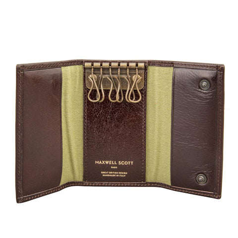 Image 1 of the Brown Leather Key Case Wallet